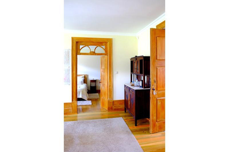 Interior da Suite da Casa Mindela